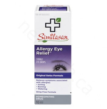 *Similasan Allergy Eye Relief
