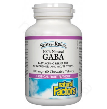GABA 100% Natural 100mg