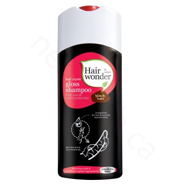 Hair Gloss Shampoo - Black