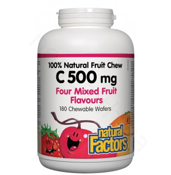 Natural Fruit Chew Vitamin C 500mg