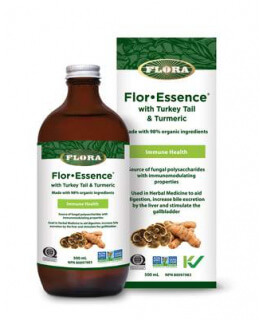 Flor-Essence with Turkey Tail &Turmeric
