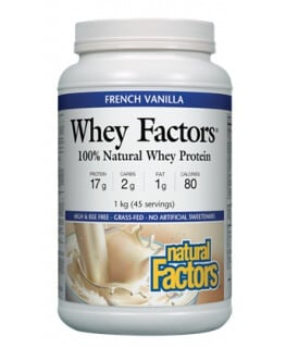 Whey Factors Protein Vanilla