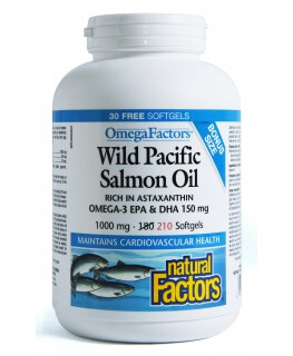 Wild Pacific Salmon Oil