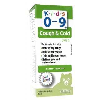 Kids 0-9 Day Syrup 250ml