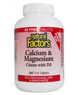 Calcium & Magnesium Citrate with D3, Zinc, and Potassium