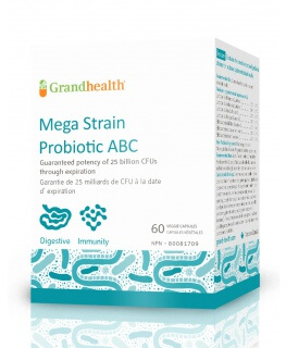 Mega Strain Probiotic ABC