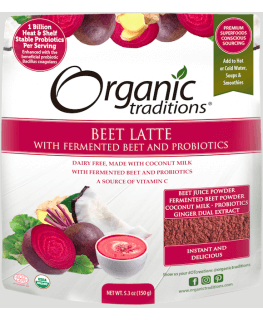 Latte- Beet with Probiotic