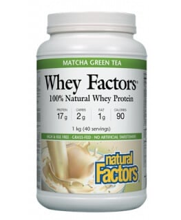 Whey Factors Protein Green Tea