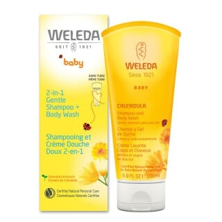 Calendula Shampoo and Body Wash